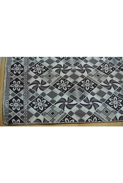 Başaran Tekstil 6 Metrekare Çark Parlak Çok Amaçlı Halı Örtüsü