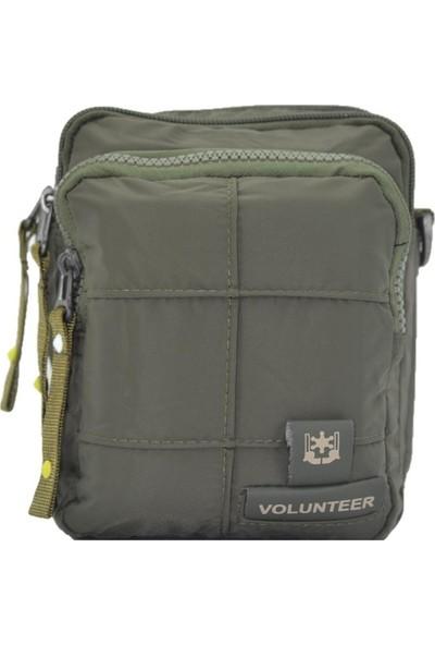 Volunteer Mini Askılı Omuz ve Bel Çantası Yeşil