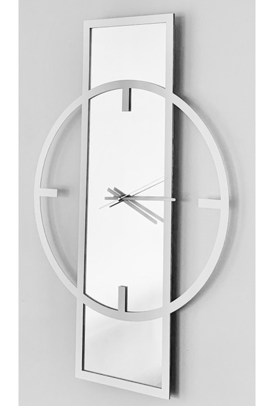 Perim Decor Beyaz Minimal Duvar Saati