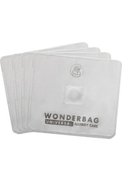 Rowenta Wonderbag Universal Uyumlu Toz Torbası 4'lü + Hepa Filtre (%100 İthal A+ Kalite)