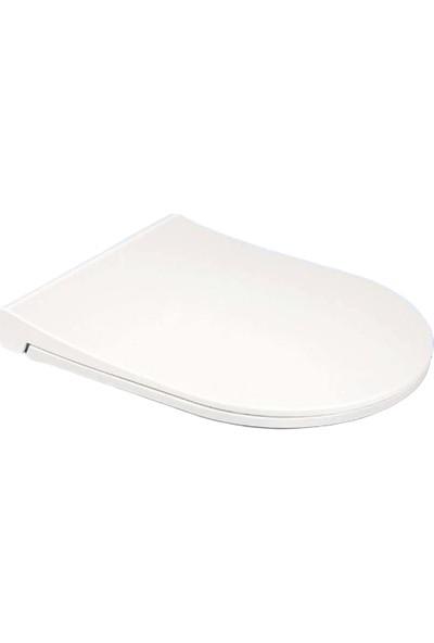 Livea Güral Compact Pp Soft Yavaş Kapanır Klozet Kapağı