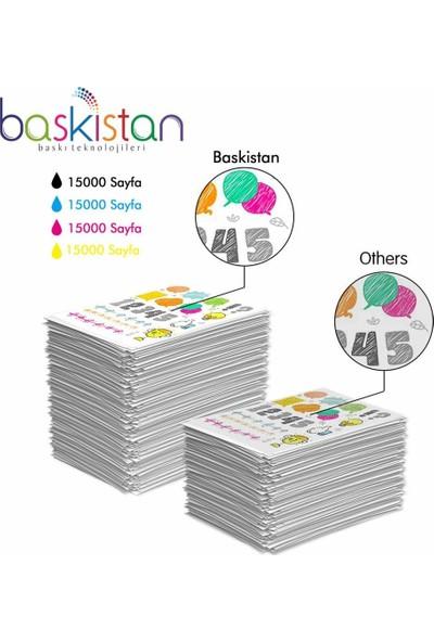 Baskistan Epson L3060 İçin Mürekkep Seti 4 x 500 ml 15000 Sayfa