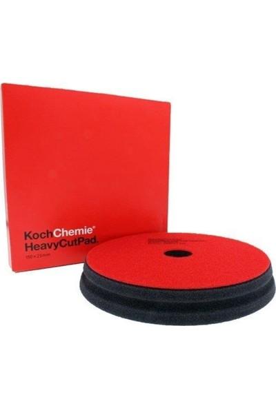 Koch Chemie Ağır Çizik Alıcı Sünger Pad 150 x 23 mm Kırmızı