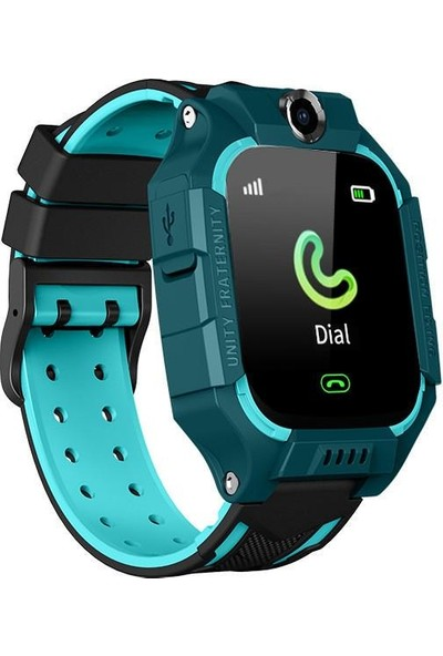 Smartbell Q500/2019 Sim Kartlı Akıllı Çocuk Saati - Mavi