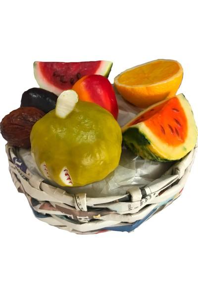 Hanımeli Meyve Sabunu Sepeti Karışık Orta Boy