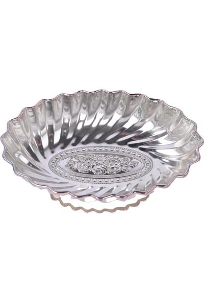 Zücace Gondol Oval Gümüş Renk