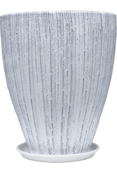 Greenmall Seramik Saksı 40 x 40 cm ST387740–01