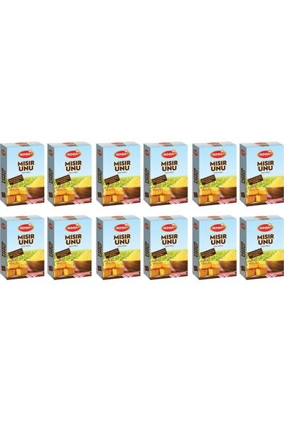 Bünsa Mısır Unu 400 gr 12'li Paket