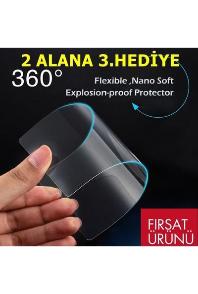 KZN Samsung Galaxy A6 Nano Cam Ekran Koruyucu 9H