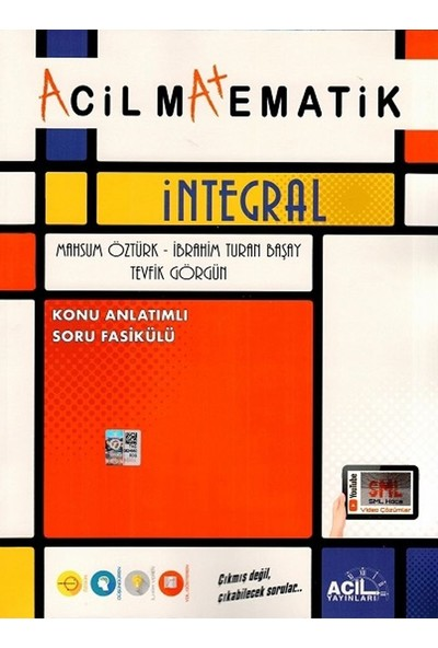 Acil Yayınları Matematik İntegral Konu Anlatım