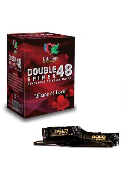 Double Epimex 48 Bitkisel Ma'cun 230gr + 2 ADET GOLD STİCK HEDİYELİ
