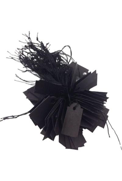 Aydın Dekor İpli Siyah 80 Adet Fıyat Etiketi