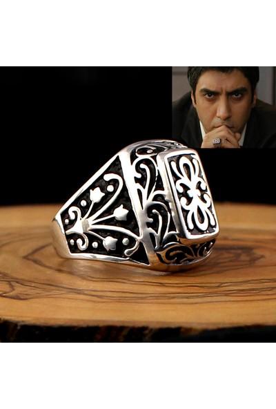 Hanzade Gümüş 925 Ayar Gümüş Polat Alemdar Yüzüğü
