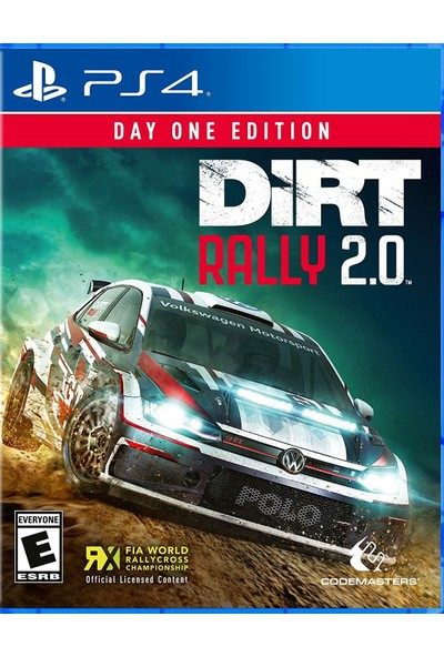 Dirt Rally 2.0 PS4 Oyun
