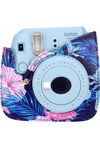 Trendfone Fujifilm Instax Mini 9 Flamingo Desenli Çanta