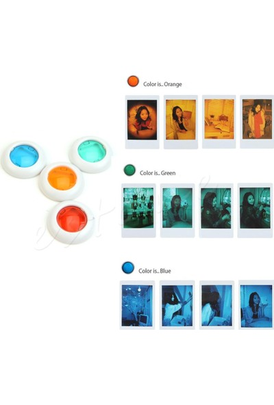Trendfone Fujifilm Instax Mini 9 Papatya Desenli Aksesuar Seti