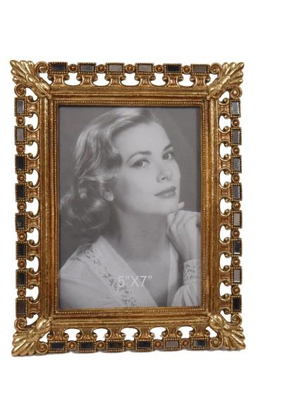 LuckyArt Gold Aynalı Fotoğraf Çerçevesi