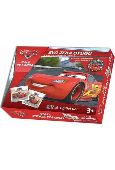 Di̇sney Pixar Cars Eva Zeka Oyun Seti̇ - 48 Parça