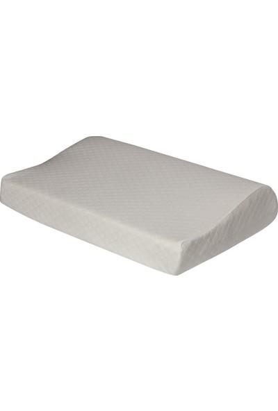 Newlife Boyun Destekli Visco Yastık 57 x 37 cm Yumuşak Yastık
