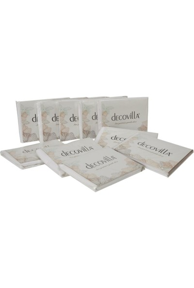Decovilla Yastık Alezi 50x70 Pamuklu Sıvı Geçirmez