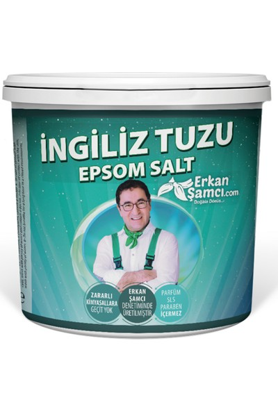 Erkan Şamcı Ingiliz Tuzu Epsom Salt 500 gr