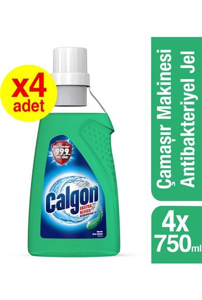 Calgon Ekstra Hijyen Antibakteriyel Jel 750 ml x 4 Adet