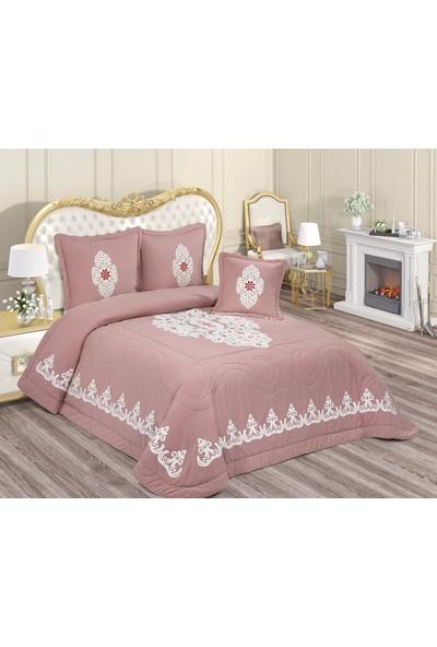 İrem Tekstil Alina Yatak Örtüsü Takımı