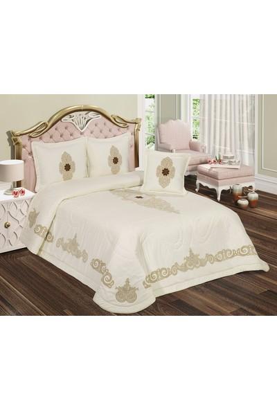 İrem Tekstil Lena Yatak Örtüsü Takımı
