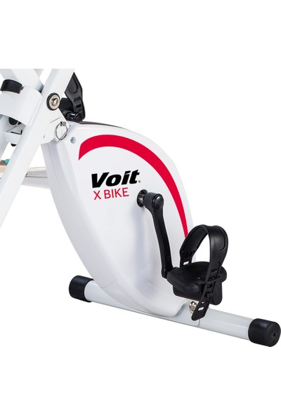 Voit X-Bike Beyaz Kırmızı Kondisyon Bisikleti