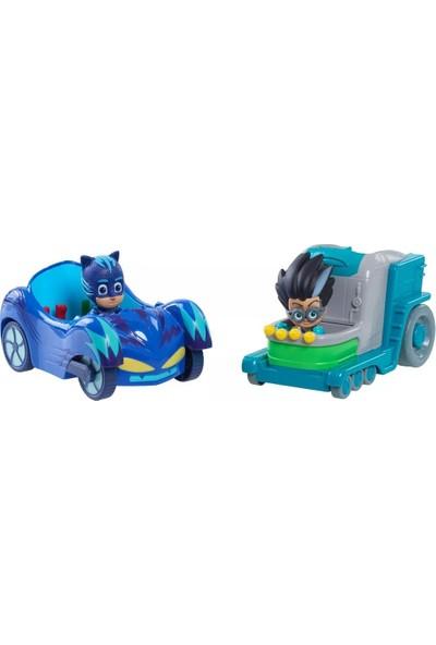 Giochi Preziosi Pijamaskeliler İyiler ve Kötüler Araçlar Cat Car ve Romeo's Car
