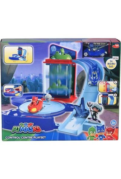 Giochi Preziosi Pijamaskeliler Kontrol Merkezi Garaj Oyun Seti
