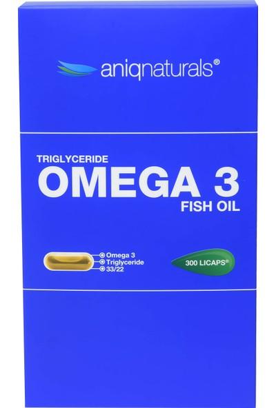 Aniqnaturals Omega Balık Yağı 300 Kapsül