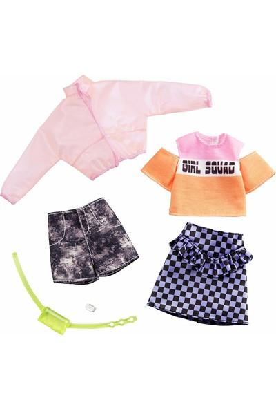 Barbie'nin Kıyafetleri İkili Paket Set 8 FYW82 - GHX58