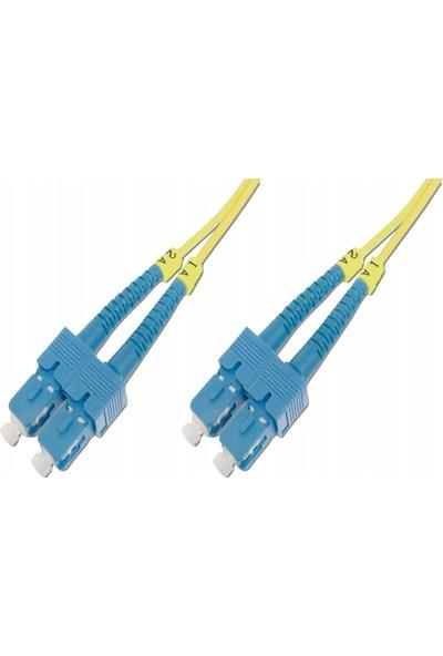 Beek SC-SC Fiber Optik Patch Kablo 1 m Singlemode Duplex 9/125 Os 2 3.0mm