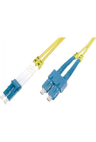 Beek Fiber Patch Cord 3.0 mm Duplex Sm Os2 9u LC-SC/PC 10M
