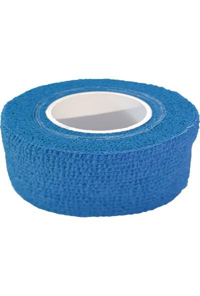 Maxtape Elastik Kohesiv Destek Bandajı 2,5cm x 4,5m Mavi 676052