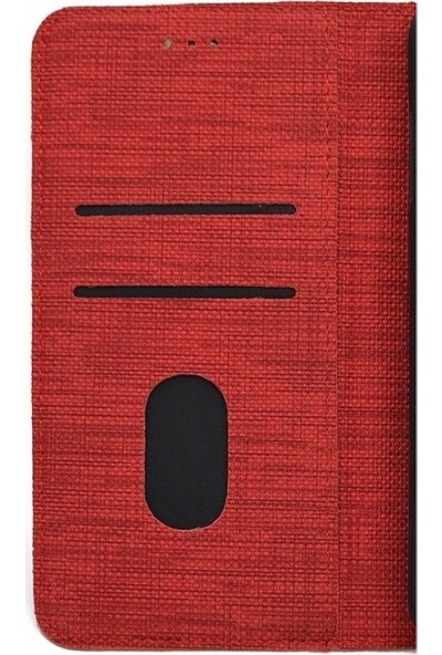 Tbkcase Oppo A5 2020 Kılıf Kumaş Spor Standlı Cüzdan Kahverengi