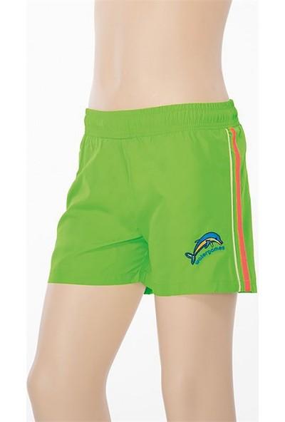 Sunsurf Çocuk Yeşil Spor Şort 299-04