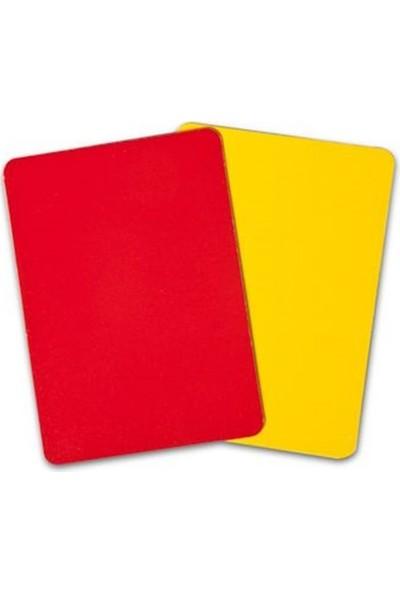 Spin Hakem Kartı Sarı-Kırmızı Cs-712