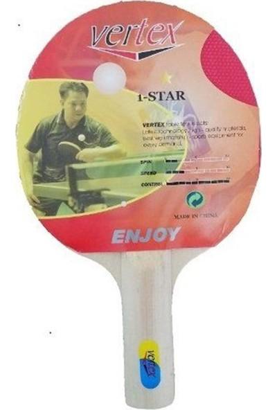 Vertex Enjoy 1-Star Masa Tenisi Raketi Enjoy