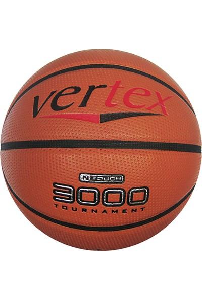 Vertex Turuncu 3000 Basketbol Topu Vertex 3000