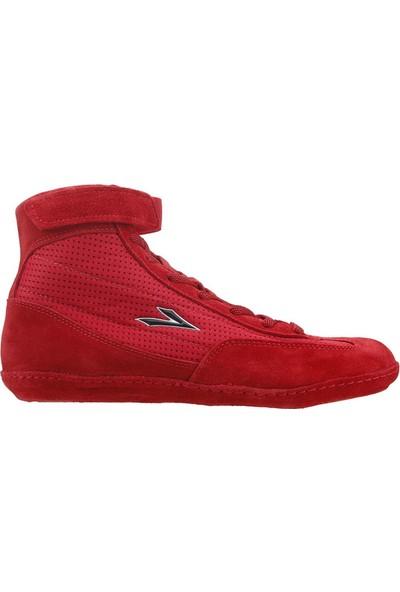 Lig Kırmızı Güreş Ayakkabısı 4013-03