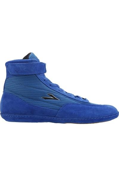Lig Mavi Güreş Ayakkabısı 4013-05