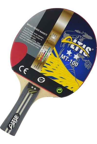 Altis Masa Tenis Raketi 2 Yıldız Siyah Mt-100