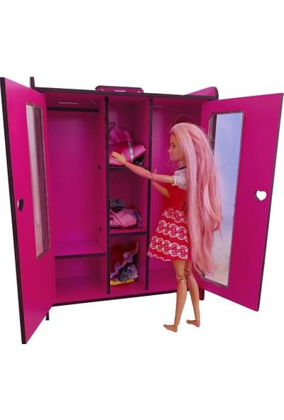 Woody Life Barbie Bebek Oyuncak Gardırop