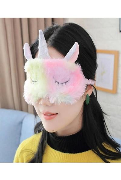 Netavantaj Peluş Unicorn Uyku Göz Bandı