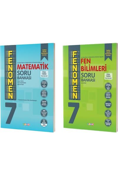 Gama Yayınları 7. Sınıf Fenomen Matematik Fen Soru Bankası Seti 2 Kitap