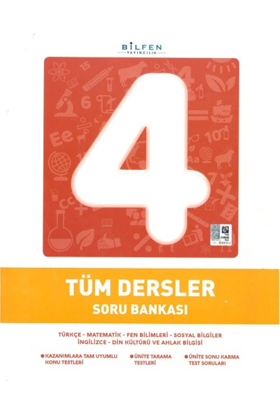 Bilfen Yayınları 4. Sınıf Tüm Dersler Soru Bankası 2020