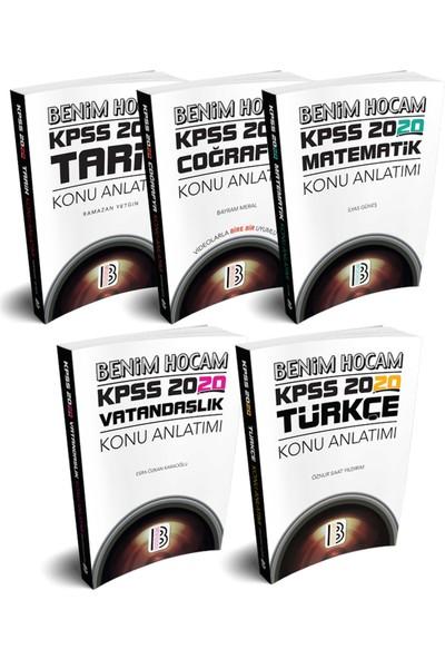 Benim Hocam Yayınları 2020 KPSS Genel Yetenek Genel Kültür Konu Anlatım Seti