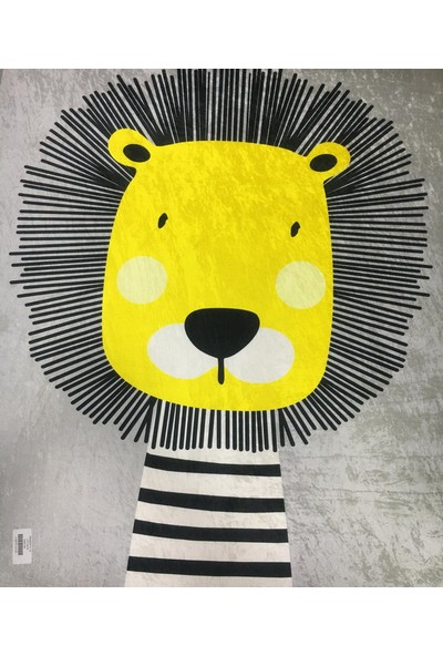 Fustat Life Aslan Kral Çocuk Halısı 80 x 140 cm